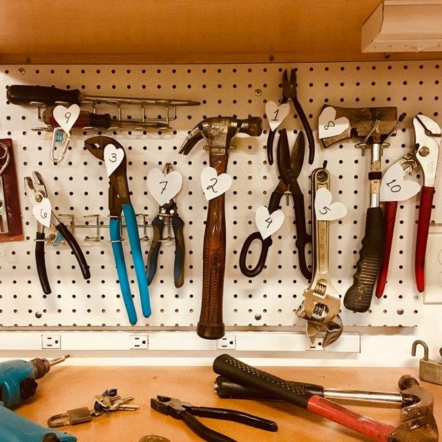 gereedschapswand tips